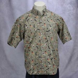 Columbia Mens Fly Fishing Short Sleeve Shirt